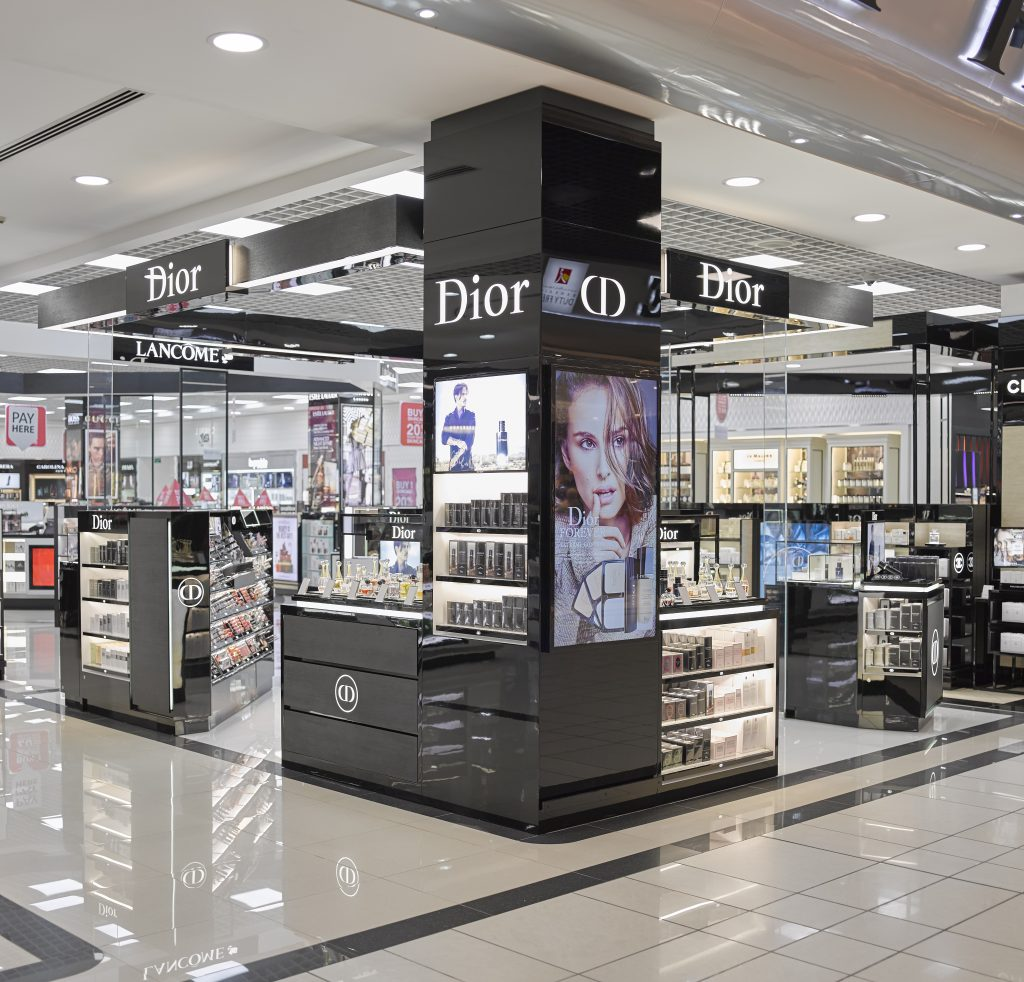 Bahrain Duty Free opens three-in-one Dior counter