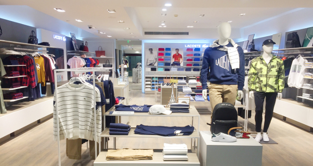 e69b6d176f5aac New Lacoste store opens in Shanghai Pudong airport terminal two