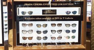 cdbbf3dd39 Luxottica and DFS partner to launch Prada eyewear campaign