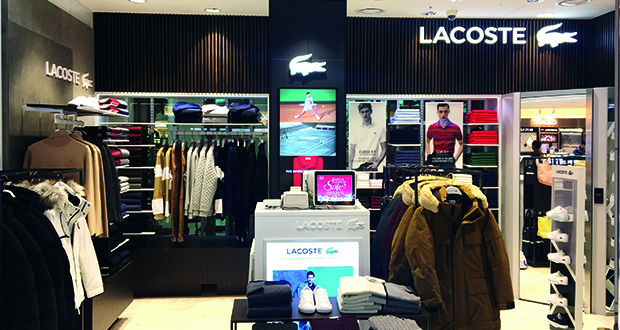 444addd627ddfb Lacoste opens new store at Seoul Incheon International Airport