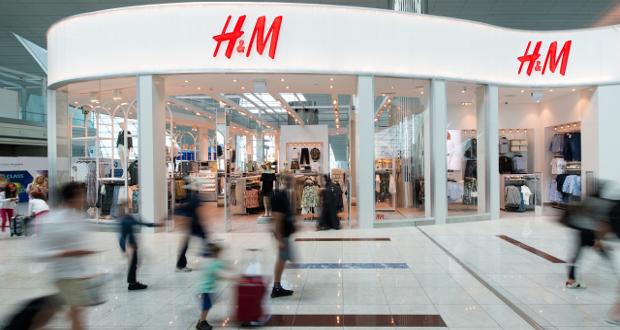 h m opens new store at dubai international airport. Black Bedroom Furniture Sets. Home Design Ideas
