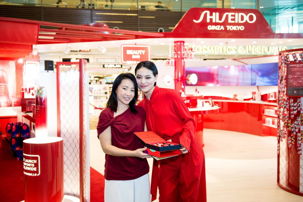 Shiseido and Shilla celebrate #StrongSouls with Changi
