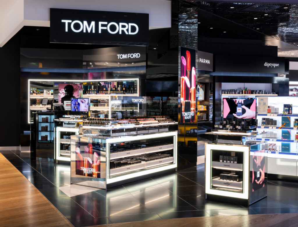 "Travellers can discover Tom Ford s collection of cosmetics, signature and  private blend fragrances for men and women. ""Tom Ford s inimitable touch ... 3c86c9515f1c"