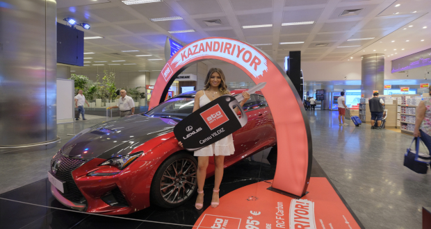 Atu Duty Free Holds Arrivals Car Competition For Turkish Residents