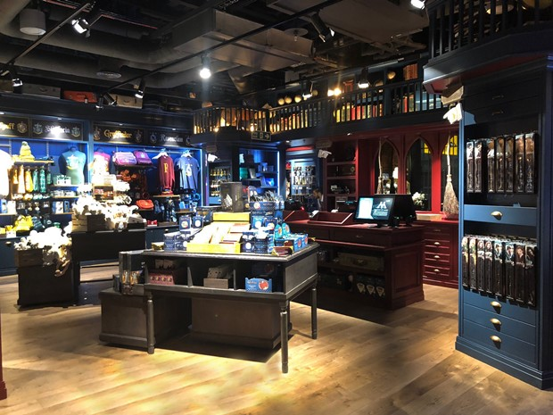 abecb22041f Heathrow unveils new expanded Harry Potter store in T5