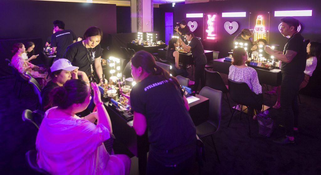 "5800370f4e3 Lotte Duty Free Vice President of Merchandising SK Lee added: ""We are  extremely proud and excited to unveil the first-ever collaboration between Yves  Saint ..."