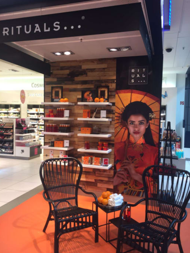 Rituals sees huge sales boost with Heinemann activation