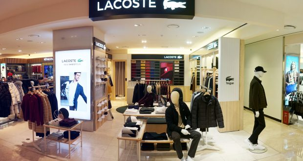83a7c852151079 Lacoste opens boutique in downtown Shilla I-Park duty free store