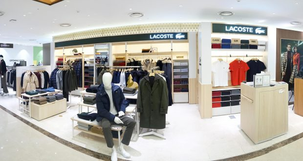 e3671100115e9f Lacoste partners with Lotte for boutique in Busan