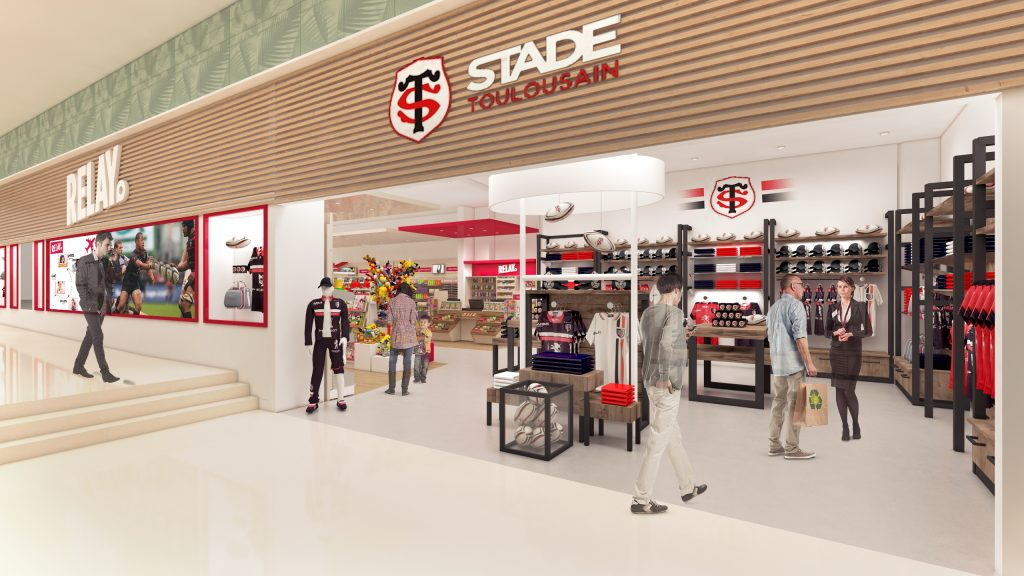 4d41b5d0e6 Central to this is the Relay – Stade Toulousain – Fnac outlet, which  combines high-tech accessories brand Fnac with Lagarère's Relay travel  essentials ...