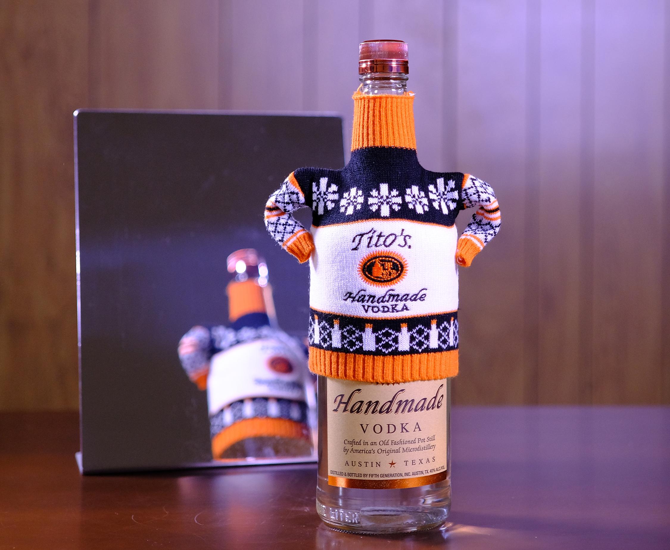 Tito's Handmade Vodka Debuts Its Festive Ugly Sweater Range