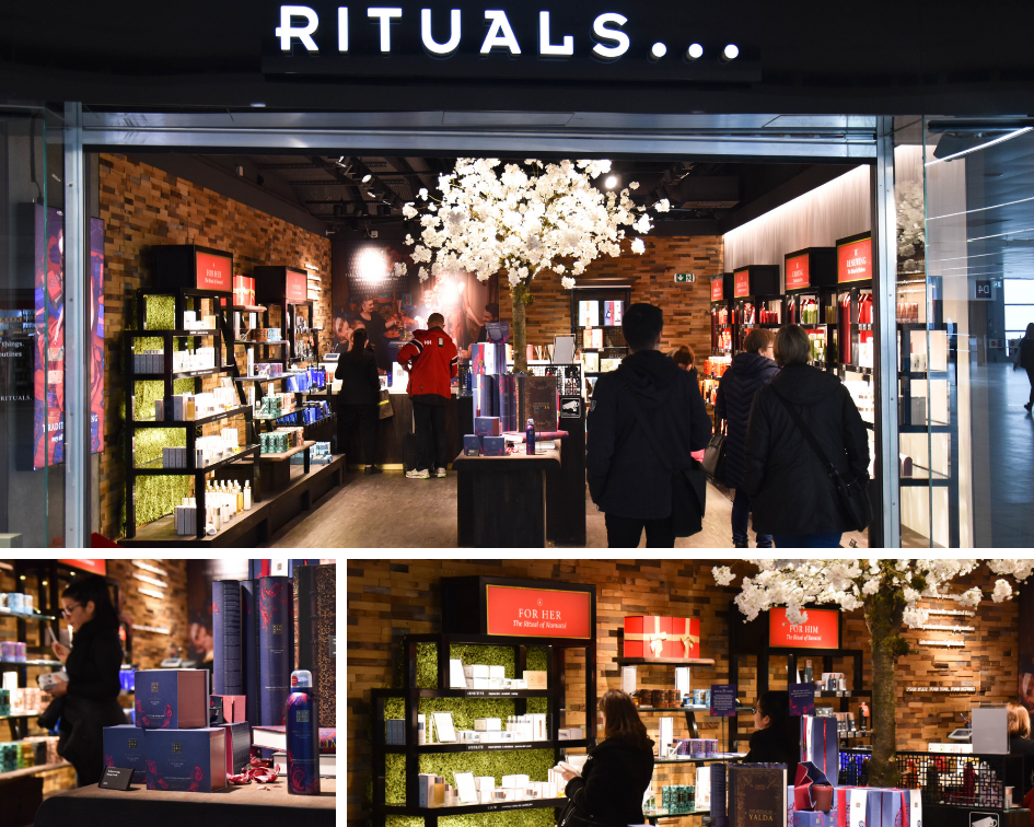 b0d461389b Lagardère Travel Retail has revealed a trio of multi-brand fashion stores  and a 51sqm Rituals cosmetics shop in Terminal 2 of Prague Václav Havel  Airport.