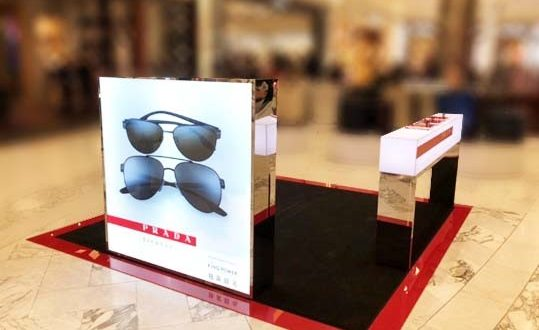fee74e9be2 King Power and Luxottica have joined forces for the launch of two exclusive Prada  sunglasses