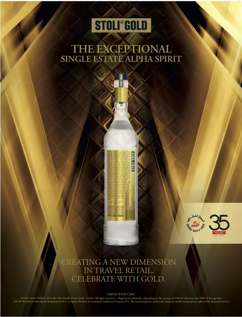 Stoli releases limited edition for Dubai Duty Free's anniversary