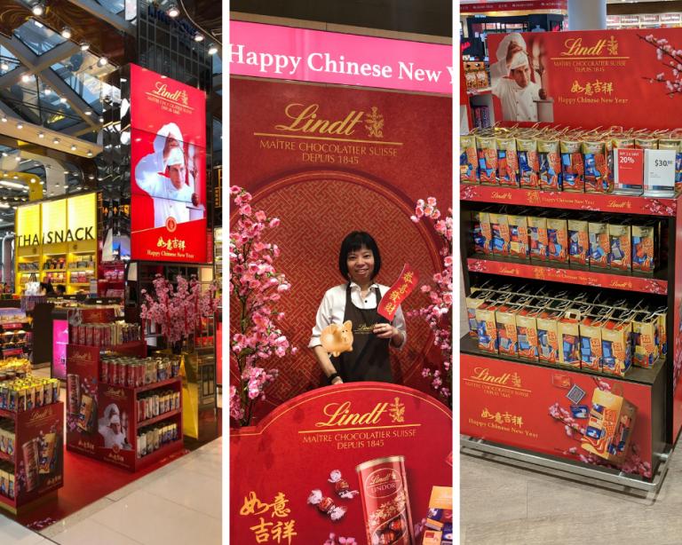 Эксклюзивные шоколадные наборы к китайскому Новому году появились в аэропортах