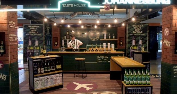4fc20ff24f Pernod Ricard reveals travel retail-exclusive Jameson experience