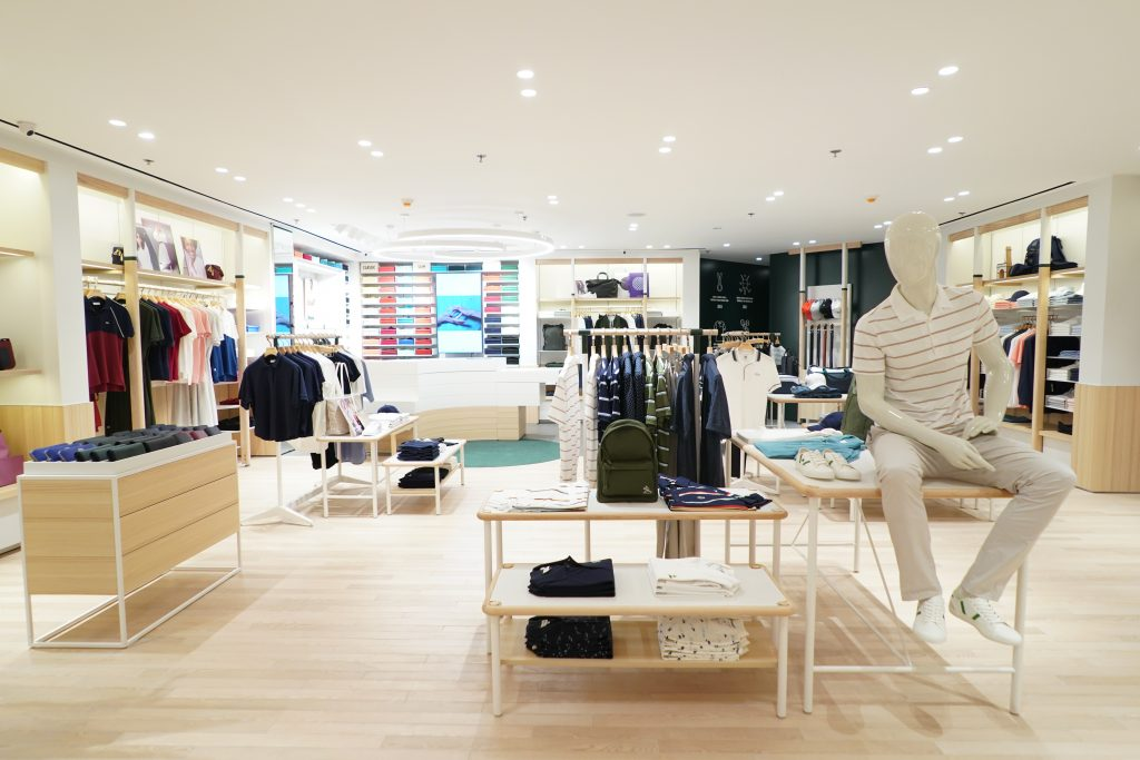 Lacoste Partners With Duty Free Philippines For Manila Downtown Refresh