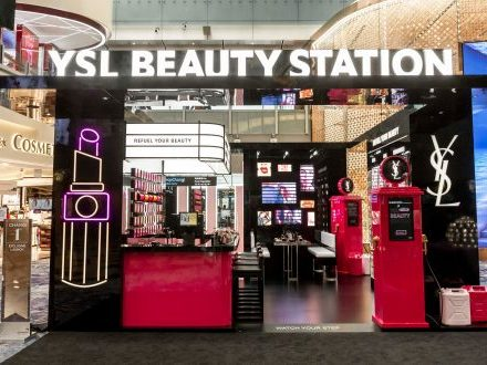 Yves Saint Laurent launches Beauty Station at Changi Airport with Shilla - DFNIonline.com