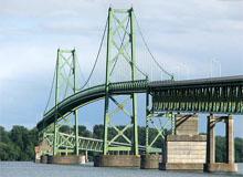 Photo of Ogdensburg Prescott bridge