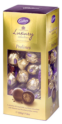 Photo of cadbury pralines 500g