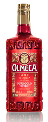 Whisky olmeca gold tequila supremo pure gold edition was sold.