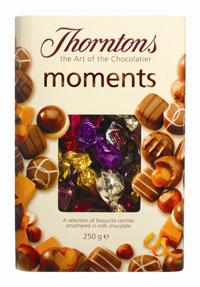 World Duty Free Lists Thorntons Chocolates
