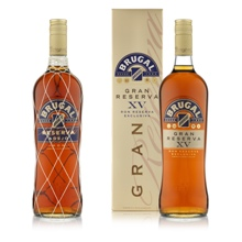 Photo of Brugal Reservas bottles and pack 300