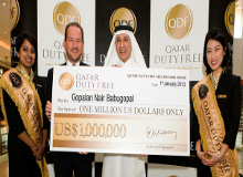 Car Winner Draw At Doha Airport